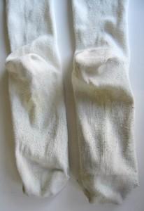 洗濯後の靴下